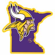 "Minnesota Vikings Home State 11"""" Magnet"
