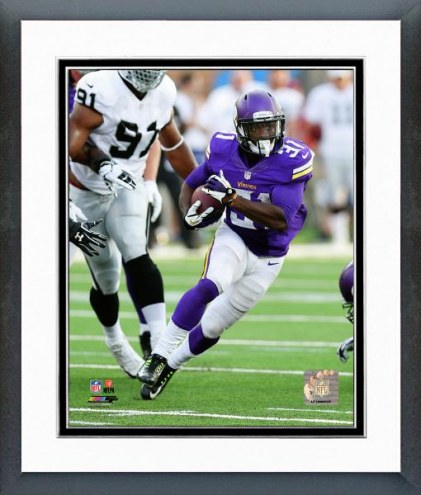 Minnesota Vikings Jerick McKinnon Action Framed Photo