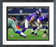 Minnesota Vikings Joe Berger Action Framed Photo