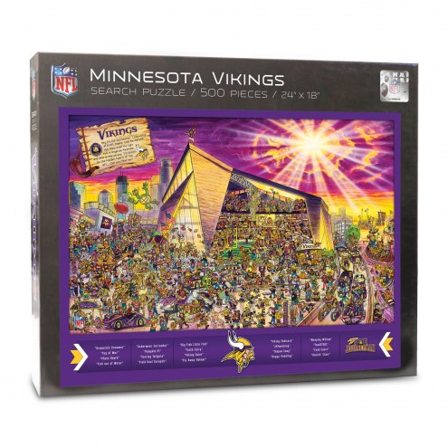 Minnesota Vikings Joe Journeyman Puzzle