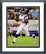 Minnesota Vikings Joe Webb Action Framed Photo
