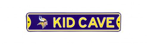 Minnesota Vikings Kid Cave Street Sign