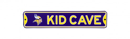 Minnesota Vikings Kid Cave Street Sign