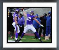 Minnesota Vikings Kyle Rudolph Action Framed Photo