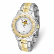 Minnesota Vikings Competitor Two-Tone Men's Watch