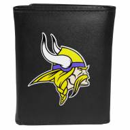 Minnesota Vikings Large Logo Tri-fold Wallet