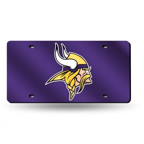 Minnesota Vikings Laser Cut License Plate