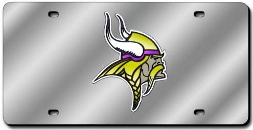 Minnesota Vikings Laser Cut License Plate