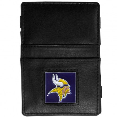 Minnesota Vikings Leather Jacob's Ladder Wallet