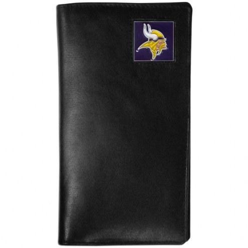 Minnesota Vikings Leather Tall Wallet