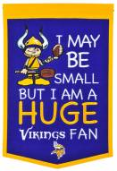 Minnesota Vikings Lil Fan Traditions Banner