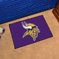 Minnesota Vikings Logo Starter Rug