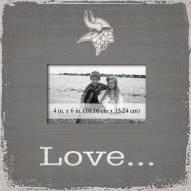 Minnesota Vikings Love Picture Frame