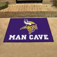 Minnesota Vikings Man Cave All-Star Rug