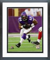 Minnesota Vikings Matt Asiata Action Framed Photo