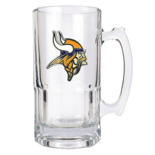 Minnesota Vikings NFL 1 Liter Glass Macho Mug