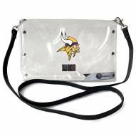 Minnesota Vikings Clear Envelope Purse