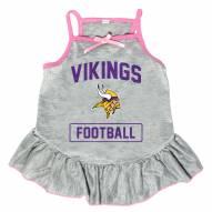 Minnesota Vikings NFL Gray Dog Dress