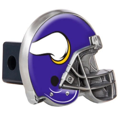 Minnesota Vikings NFL Football Helmet Trailer Hitch Cover