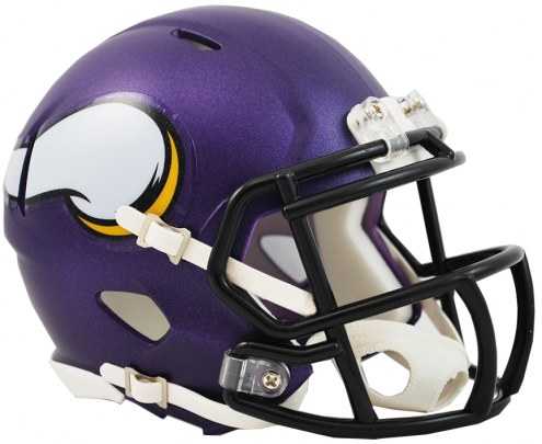 Minnesota Vikings NFL Riddell Speed Mini Collectible Football Helmet