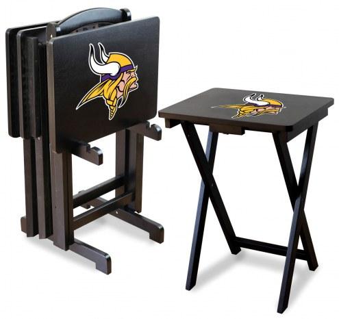 Minnesota Vikings NFL TV Trays - Set of 4