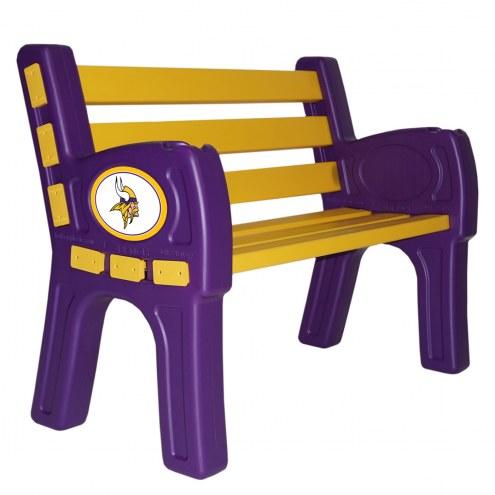 Minnesota Vikings Park Bench