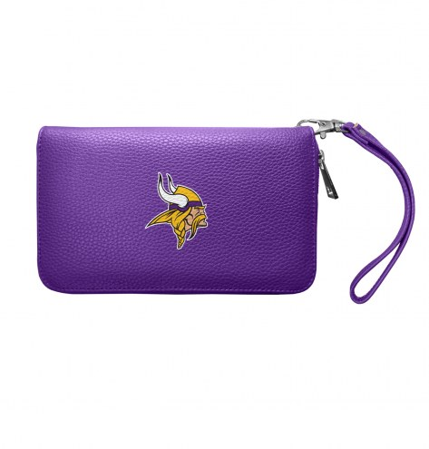 Minnesota Vikings Pebble Organizer Wallet