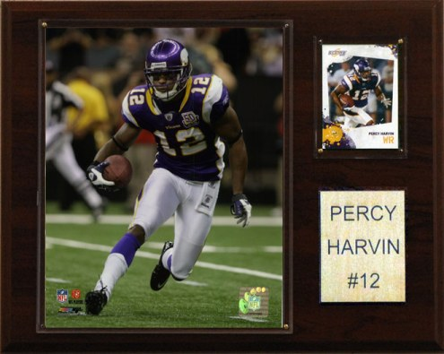 "Minnesota Vikings Percy Harvin 12 x 15"" Player Plaque"