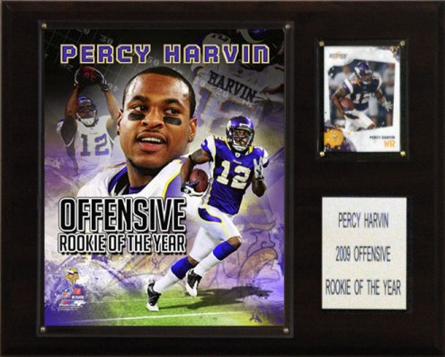 "Minnesota Vikings Percy Harvin Rookie of the Year 12 x 15"" Player Plaque"