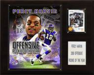 """Minnesota Vikings Percy Harvin Rookie of the Year 12 x 15"""" Player Plaque"""