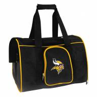 Minnesota Vikings Premium Pet Carrier Bag