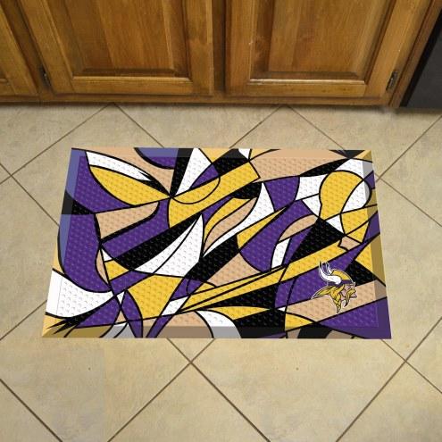 Minnesota Vikings Quicksnap Scraper Door Mat