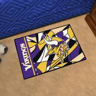 Minnesota Vikings Quicksnap Starter Rug