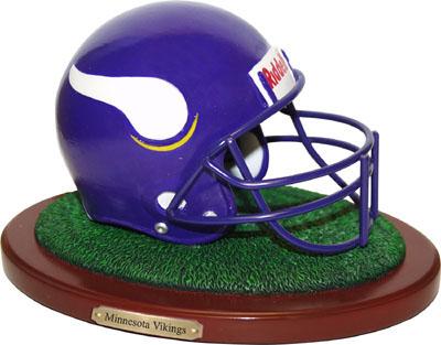 Minnesota Vikings Collectible Football Helmet Figurine