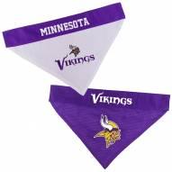Minnesota Vikings Reversible Dog Bandana