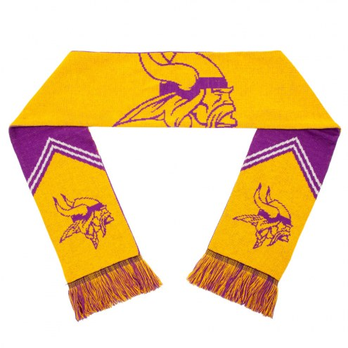 Minnesota Vikings Reversible Stripe Scarf