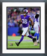 Minnesota Vikings Robert Blanton Action Framed Photo
