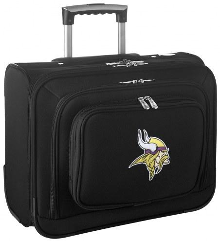 Minnesota Vikings Rolling Laptop Overnighter Bag