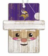 Minnesota Vikings Santa Ornament