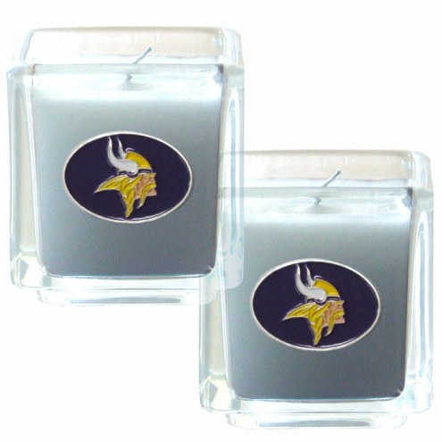 Minnesota Vikings Scented Candle Set