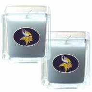 Minnesota Vikings Scented Candle Set