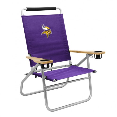 Minnesota Vikings Seaside Beach Chair