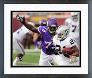 Minnesota Vikings Sharrif Floyd Action Framed Photo