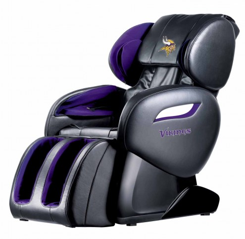 Minnesota Vikings Shiatsu Zero Gravity Massage Chair