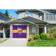 Minnesota Vikings Single Garage Door Cover