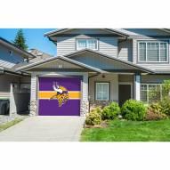 Minnesota Vikings Single Garage Door Cover