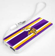 Minnesota Vikings Slim Power Bank Portable Charger