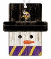 Minnesota Vikings Snowman Ornament