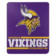 Minnesota Vikings Split Wide Fleece Blanket