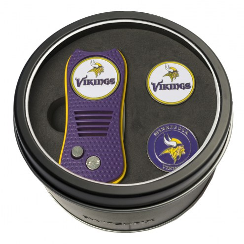 Minnesota Vikings Switchfix Golf Divot Tool & Ball Markers